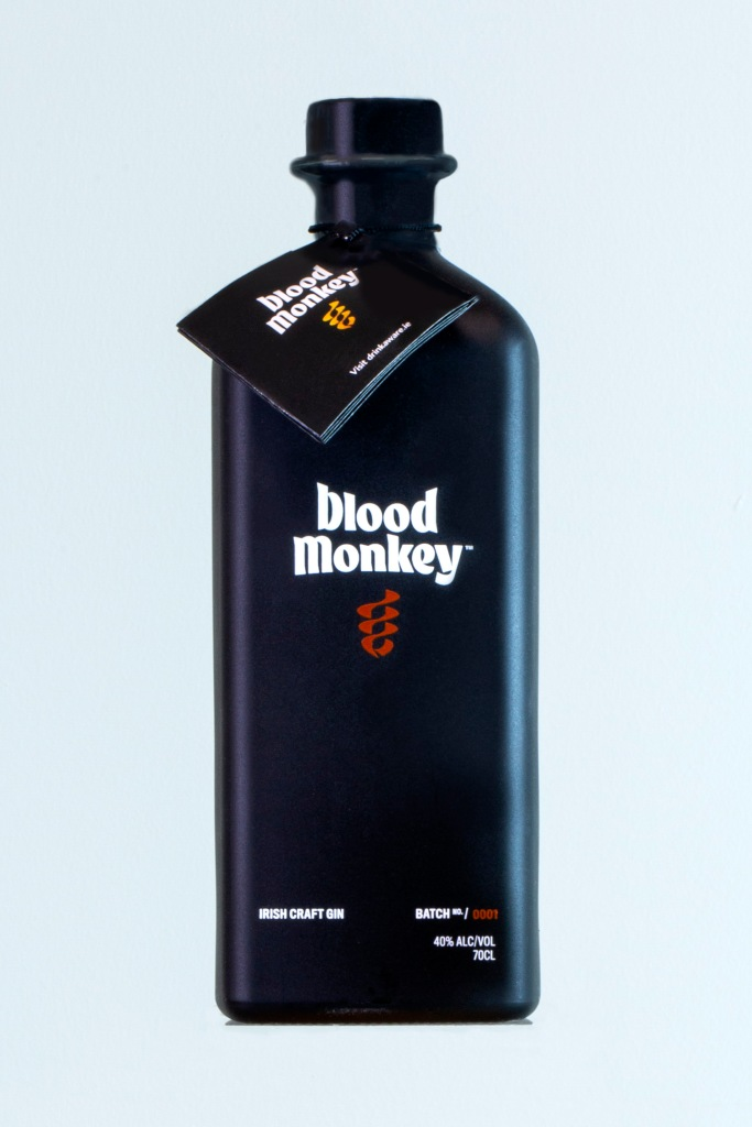 Blood Monkey Gin Product Photography